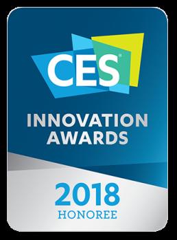 CES award 2018 logo