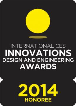 Consumer Electronics Show Innovations award logo - Piper 2014