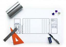 Viavi industrial design illustration