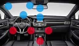 Car interior industrial design research